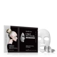 Double Dare OMG! DUO MASK - PEARL TREATMENT - Double Dare OMG! комплекс двухкомпонентный из маски и патчей «DUO Сияние и тонизирование»